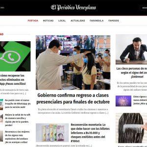 Portada El Periódico Venezolano
